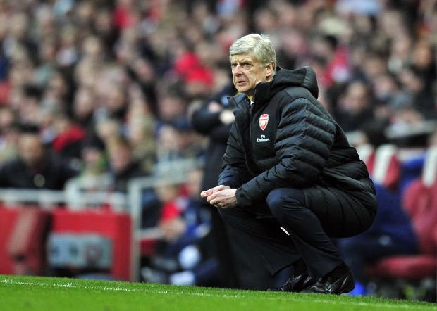 A vida de Wenger estava difícil no Emirates (Reprodução)