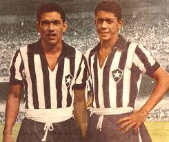 Garrincha e Amarildo foram peças fundamentais na conquista do bi Crédito: Arquivo Público do Estado de São Paulo