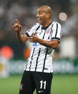 Em meio a vários destaques, Sheik foi o melhor em campo na goleada sobre o Once Caldas, pela primeira fase da Libertadores (Foto: Ari Ferreira/LANCE!Press)